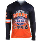 Chicago Bears Super Bowl XX Champions Poly Hoody Tee on eBay