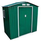 Wido GREEN METAL GARDEN SHED STEEL PANEL OUTDOOR TOOL STORAGE BIKE - 4 SIZES