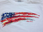 New POLO Ralph Lauren S/S Patriotic Flag on Chest T-Shirt Tee NWT Free US Ship