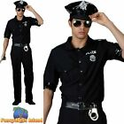 New York Cop Police Officer Uniform Stag Do Party Mens Fancy Dress Costume