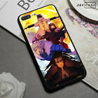 Bloody Anime Naruto Shockproof Silicone Phone Case For iPhone XS Max/XR 7/8 Plus