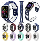 For Apple Watch Series 3 2 1 Silicone Sport Band Strap Replacement  42mm 38mm  image