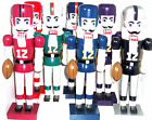 NFL Nutcracker Dolphins Raiders Chiefs Broncos 49ers Vikings Chargers New $49.95 USD on eBay