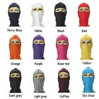 1-3pcs Outdoor Ski Motorcycle Cycling Balaclava Lycra Full Face Mask Neck Thin
