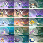 Pokemon Lets Go Pikachu & Eevee All 151 Shiny Pokemon 6IV Max AV Battle Ready