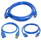 0.3/1.5/3m USB 3.0 Extension Cable, A-Male to A-Female Data Cord, 5Gbps
