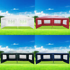 3 x 6M Outdoor PE Garden Gazebo Marquee Canopy Party Waterproof Tent Canopy UK