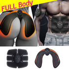 Electric Muscle Toner EMS Machine Wireless Toning Belt 6 ABS Fat Burner Butt kit image