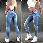 HAILYS Stretch Jeans CAMILA L-blue XS S M L XL XXL Damen sexy Cut Out Damenjeans