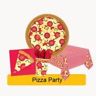 PIZZA PARTY Birthday Range - NEW - Tableware Balloons Supplies & Decorations