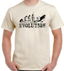 Scuba Diving Evolution Mens Funny T-Shirt Snorkel Equipment Gear Sea Air Tanks
