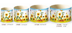 Set 6 Easter Bread Parchment Baking Paper Molds Forms Paska Kulich Cakes Flowers