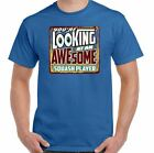 You're Looking at an Awesome Squash Player Mens Funny T-Shirt Raquet Ball