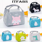 Thermal Insulated Lunch Box Floral Bag Tote Bento Pouch Lunch Container Portable