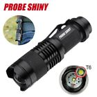 10000Lumen PROBE SHINY T6 LED Mini Flashlight Torch Super Bright Skid-proof