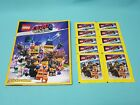 The Lego® Movie Sticker Serie 2 Tüten Display komplett Set Album Blister wählen