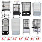 "37"" 57"" 39"" 63"" 68""Small Large Bird Cage Play Parrot Cage And Cup Food 7 Style"