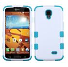 Impact Hard Case +Silicone Hybrid Protector TUFF Cover for LG Volt LS740