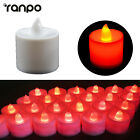 Внешний вид - 5/30X LED Tea Light Fake Electric Candle Realistic Flamless Red Flickering ST710