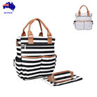 Classic Baby Diaper Bag /Maternity Nappy Bag/Mummy Bag with Changing pad