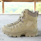 Mens Quality Military Tactical Boots Desert Army Hiking Combat Ankle Boots