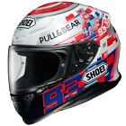Shoei NXR Marquez Power Up Moto GP Replica Full Face Motorbike Crash Helmet