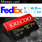 Micro SD Flash Memory Card 256GB 128GB 64GB 95MBs Class 10 High Speed & Adapter