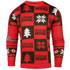 Cleveland Browns NFL Repeat Patches Holiday Sweater on eBay