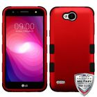 For LG Fiesta/X Power 2 TUFF Hybrid Shockproof Phone Protector Case Cover