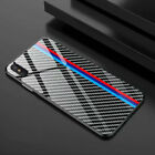 iPhone 7/ 8 / X / XR / XS / XS Max Carbon Fiber Shockproof Luxury Case Cover