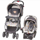Baby Trend Stroller with Car Seat Playard Pen Crib High Chair Travel System Set