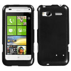 For HTC Radar 4G / Omega Design Snap-On Hard Case Phone Cover