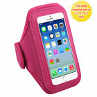 Hot Pink Sports Gym Running Jogging Walking Armband Case Phone Holder Strap
