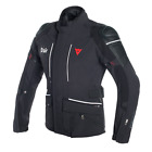 Dainese Cyclone D-Air Black White Textile Air Bag Motorcycle Jacket