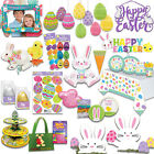 EASTER Party DECORATIONS Novelty Gifts Toys Fillable Eggs Bunny Chick Cellophane