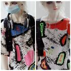 Colorful T Shirt For 1/4 MSD 1/3 AOD SD17 DZ70  Doll Dollfie Outfit