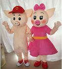 2019 Pig Year Mascot Costumes Party Cosplay Adult Dress Christmas Parade Unisex