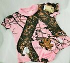 Mossy Oak Pink Camo Baby Toddler Dress, Ruffle Panties Camouflage