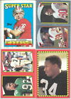 1988 Topps Football Sticker & Stickerback Variations Listing 3 of 3 You Pick!