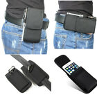 New-Belt-Clip-Holster-Soft-Pouch-Card-Wallet-Canvas-Bag-Cell-Phone-Case-Cover
