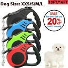Внешний вид - Dog Leash Retractable Walking Collar For Small Medium Pet with Lock Nylon 10 Ft
