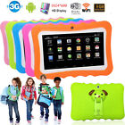 """Kids Boys Girls Gift 7"""" Android Tablet Unlocked WIFI 3G HD Display Dual Camera"""