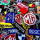 Patch Sponsor Racing Car Motorcycle Embroidered Iron On Sew Logo 100 Designs $4.19 CAD on eBay