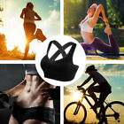 Women Crossback Sports Bras Padded Seamless Med Support Yoga Gym Workout Fitness