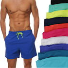 US Men New Breathable Short Summer Beach Pants Classic Swimming Board Pants h8