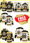 Boston Bruins New Mens Hockey Stitched All Players Jersey Home Away
