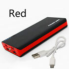 Polymer Mobile Power Supply 500000mAh LED Travel Power Bank 4USB Battery Charger