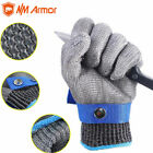 High Quality Stainless Safety Steel Butcher Protect Meat Gloves Flexible Wrist