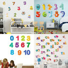 Numbers & Alphabets Educational Wall Decal Nursery Kids Children Room Art Decal