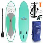 Inflatable Stand Up Paddle Board (6 Inches Thick) with Premium SUP Accessories
